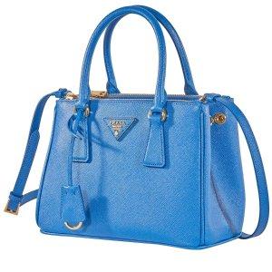 PradaGalleria Mini 蓝色