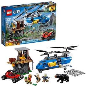 Lego刷新史低价City 系列 山地特警空中追捕 60173