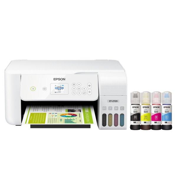 EcoTank ET-2720  彩色多功能无线打印机