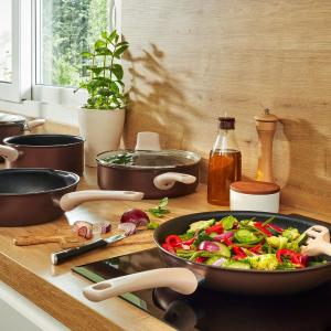 5折起 炒锅两件套仅£23史低价:Tefal 法国红点锅Prime Day 闪促 收不粘煎锅、超多锅具
