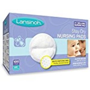 Amazon.com: Lansinoh Nursing Pads, 4 Packs of 60 (240 count) Stay Dry Disposable Breast Pads: Health & Personal Care