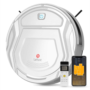 $189.99包邮(原价$239.99)史低价:Lefant M210 1800Pa 智能扫地机器人 支持远程遥控