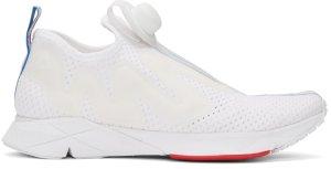 Reebok Classics: White Pump Supreme Jaqtape Sneakers | SSENSE