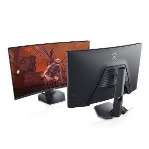 $299 (原价$399)白菜价:Dell  S2721HGF 27寸游戏曲面屏 144Hz VA屏