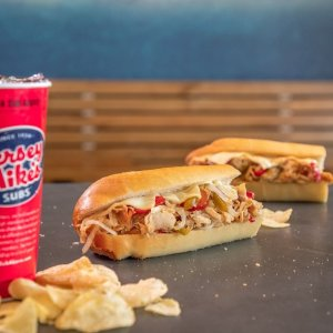 50% Off All SubsJersey Mike's App Order Offer