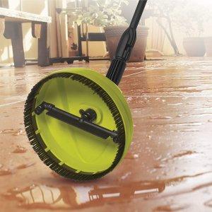 $23.2(原价$35.99) 洗地洗墙利器Sun Joe SPX3000 2030 PSI 1.76 GPM 家用电动高压清洗机刷头