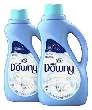 $5.94Downy 液体衣物柔顺剂 51Fl Oz 2瓶