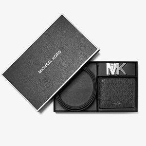 7.5折+免邮 收封面款父亲节好礼:Michael Kors 腰带专场 $187.5收腰带钱包套装