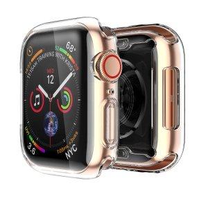 $0.99白菜价:2件 Apple Watch Series 4 (44mm)  透明保护壳