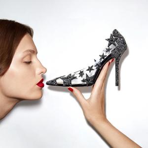 低至5折 超仙超气质Jimmy Choo 公主的经典美鞋专场 收封面款