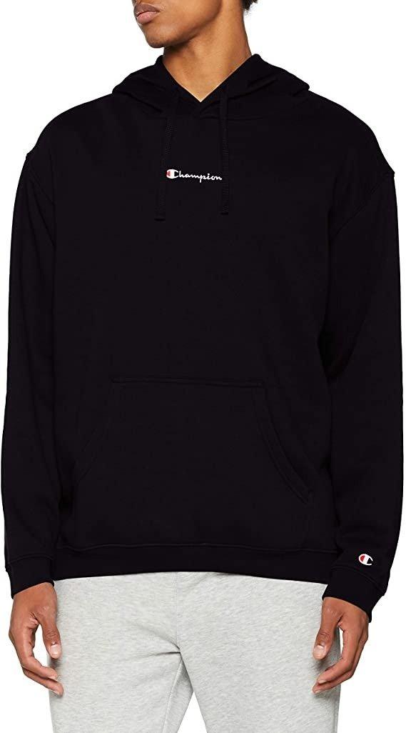经典小Logo黑色连帽衫