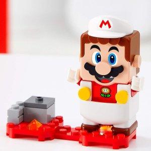 $9 收百变马里奥手慢无:LEGO 马里奥扩展款 呆萌马里奥变身多款折扣