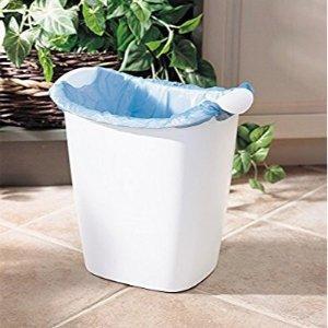$8.09Rubbermaid FG238500WHT Recycler Wastebasket