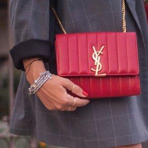 无门槛8.5折+包税TESSABIT全场大牌热卖,YSL包包$900+,麦昆小白鞋$416