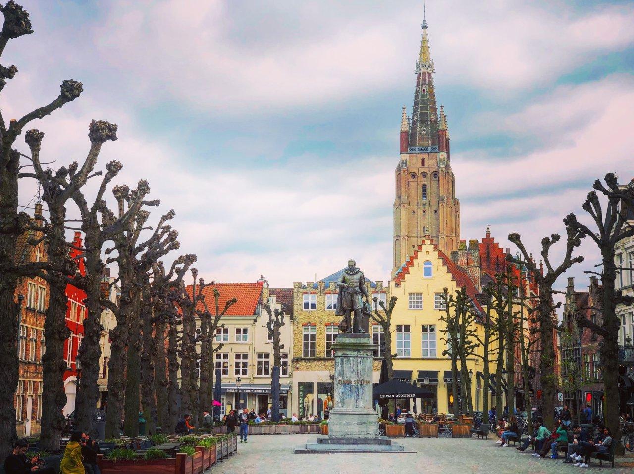 跟着电影去旅行 | 如果你看过《杀手没有假期》, 你会记得布鲁日, 这座比利时中世纪童话之城