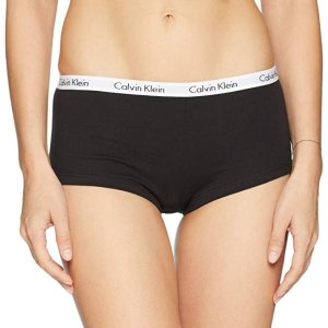Calvin KleinWomen's Multipack Carousel Logo Cotton Boyshort Underwear