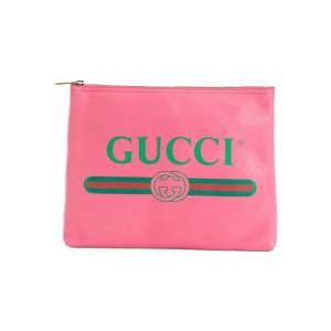 Gucci复古logo手包