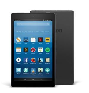 $69.99(原价$99.99)史低价:Fire HD 8 平板限时特惠(经典黑,16GB,8吋高清屏幕, Wi-Fi)