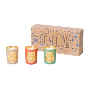 Cire Trudon Odeurs D'Egypte Scented Candles - Set of 3 - 100g   Amara