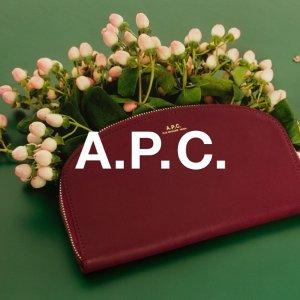 8折起+叠95折 免费退货限今天:A.P.C 限时促 网红半月包合集 经典托特包$254