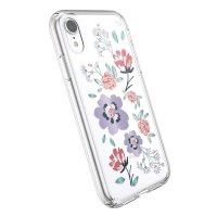 Speck iPhone XR 花卉图案 清水壳