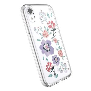 Speck Products Presidio Clear + Print iPhone XR Case