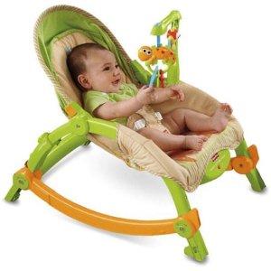 $29 史低价Fisher-Price 费雪宝宝便携式多功能摇椅