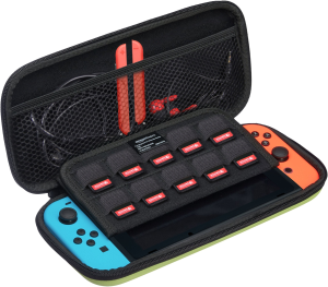 $3AmazonBasics Carrying Case for Nintendo Switch Neon Yellow