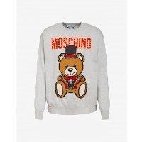 Moschino 男士小熊羊毛衫卫衣