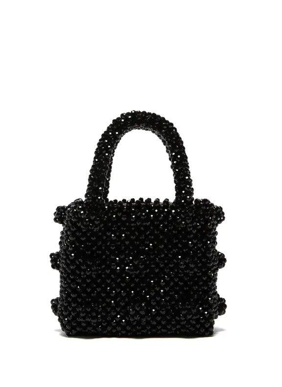 黑色迷你珍珠包