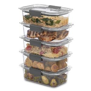 史低价:Rubbermaid 食物保鲜储藏盒5件套