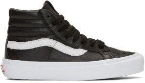 Vans: Black OG Classic LX Slip-On Sneakers | SSENSE