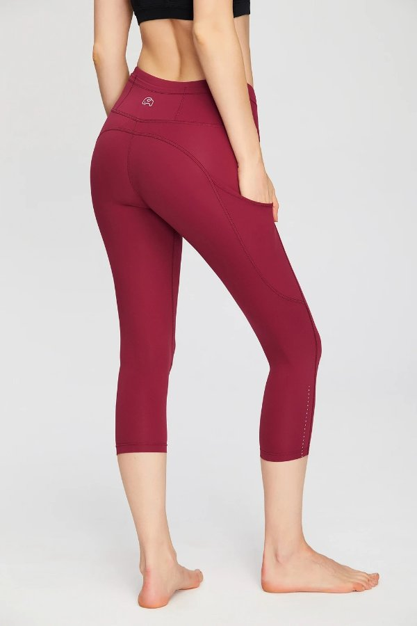 Capri Length Squat-Proof 女款legging