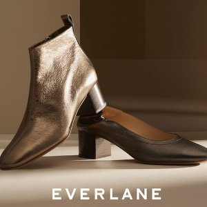 New ArrivalsDay Heel + Day Boot Metallic @ Everlane