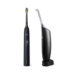 电动牙刷 + 水牙线清洁器套装