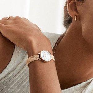 Daniel Wellington表盘3.2cm,晒货同款手表