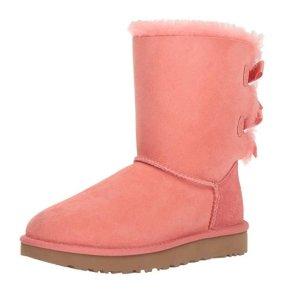 现价$49.95(原价$205)逆天价:UGG 热门款女士蝴蝶结靴热卖 7/8码有货