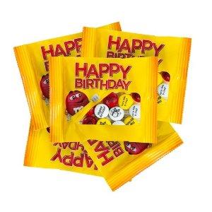 生日快乐版,可个性化定制巧克力豆