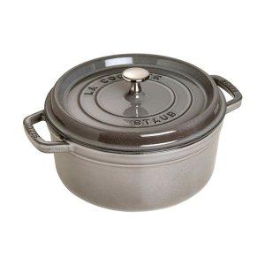 Staub圆形铸铁锅