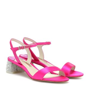 Sophia WebsterAmber 水晶跟凉鞋