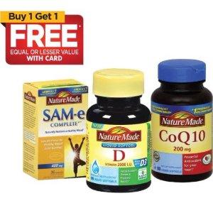 Buy 1 Get 1 FreeSelect Vitamins Sale @ Rite Aid