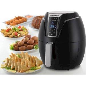 $49Emerald - 3.2L Digital Air Fryer - Black
