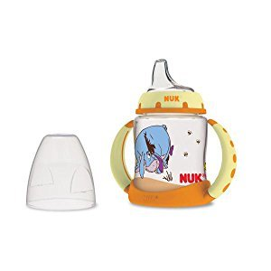 Amazon.com : NUK Disney Winnie the Pooh 5 Ounces Learner Cup Silicone Spout, 6+ Months : Baby Bottles : Baby