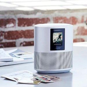 $431 (原价$599.95)对抗HomePod Alexa语音助手音箱Bose Home Speaker 500 支持Alexa助手 黑白双色可选
