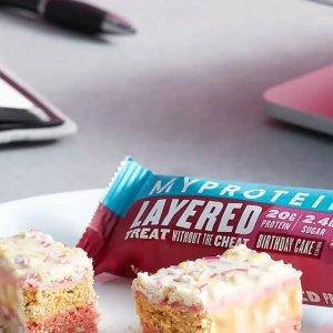 全场3.5折+畅享单品额外7.5折闪购:Myprotein 零食饮料专区热促中 美味又低卡 好吃也不怕胖