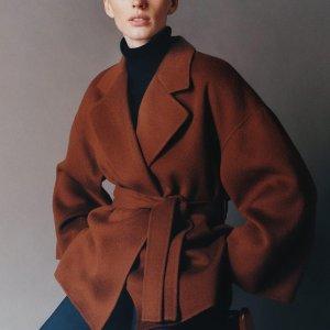 低至4折  收羊毛大衣Theory 男女当季服饰闪购