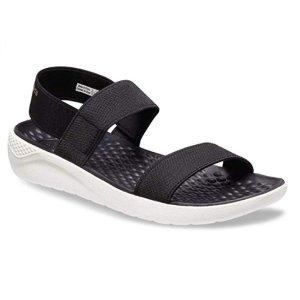 低至$24.95(原价$44.99) 熊猫配色Crocs 女士沙滩鞋小潮鞋热卖  又轻又软又舒适