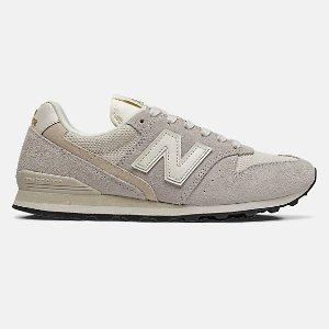 New Balance百搭浅灰996 复古女鞋