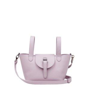 MeliMelo晒货同款粉色摇篮包