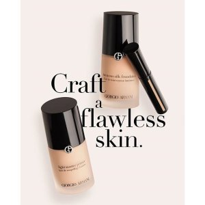 20% offWith Any Foundation Purchase @ Giorgio Armani Beauty